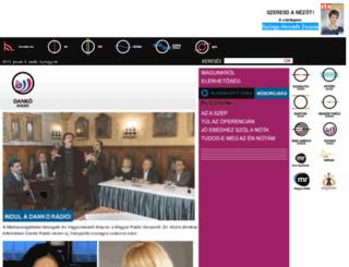 danko.radio.hu screenshot