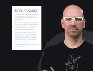 danmakoski.com screenshot