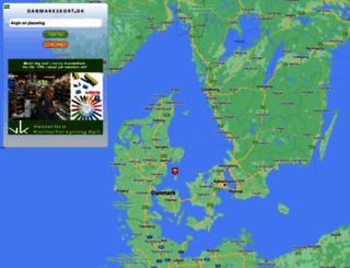 danmarkskort.dk screenshot