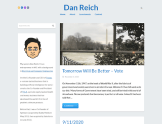 danreich.com screenshot