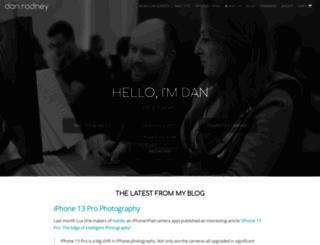 danrodney.com screenshot