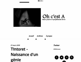 danslessouliersdoceane.hautetfort.com screenshot