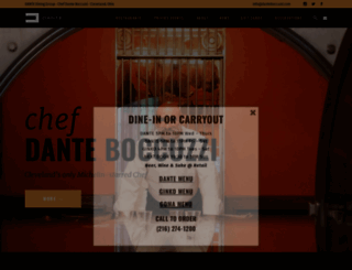 danteboccuzzi.com screenshot