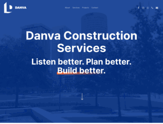 danvaconstruction.com screenshot