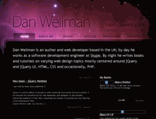danwellman.co.uk screenshot