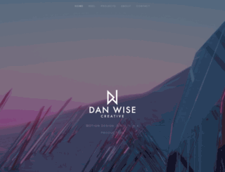 danwisecreative.co.uk screenshot