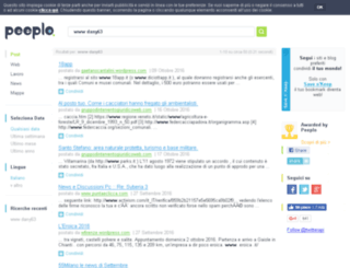 dany63.splinder.com screenshot
