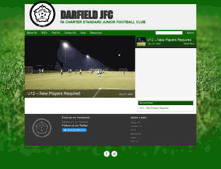 darfieldjfc.co.uk screenshot
