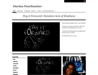 darianpearlmutter.wordpress.com screenshot