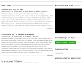 darioolivera.com screenshot