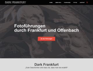 dark-frankfurt.de screenshot
