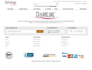 darklure.com screenshot