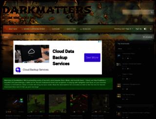 darkmatters.org screenshot