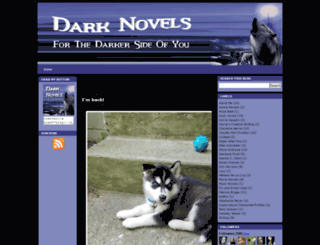 darknovels.blogspot.com screenshot