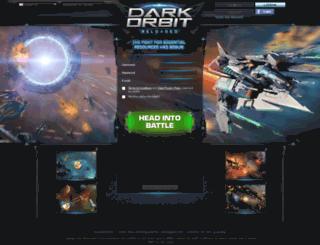 darkorbit.co.uk screenshot