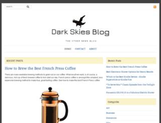 darkskiesblog.com screenshot