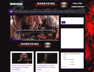 darkveins.com screenshot
