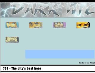 darkwick.com screenshot