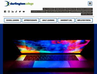 darlington.ac.uk screenshot