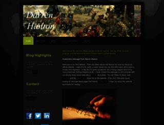 darrenhanton.com screenshot