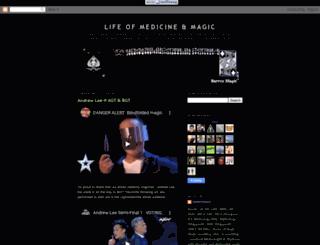 darrenmagic.blogspot.com screenshot