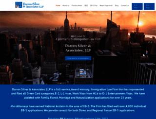 darrensilver.com screenshot
