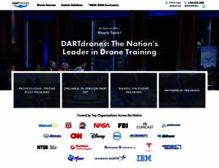 dartdrones.com screenshot