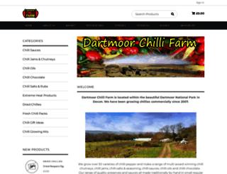 dartmoorchillifarm.com screenshot