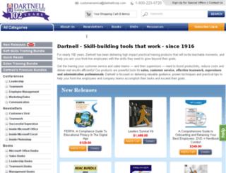 dartnellcorp.com screenshot