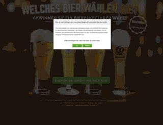 das-grosse-biergewinnspiel.de screenshot