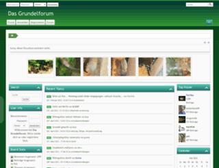 das-grundelforum.de screenshot