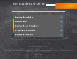 das-osteuropa-forum.de screenshot