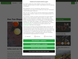 das-tee-magazin.de screenshot