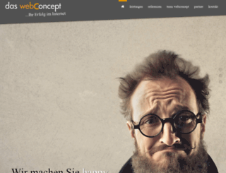 das-webconcept.de screenshot