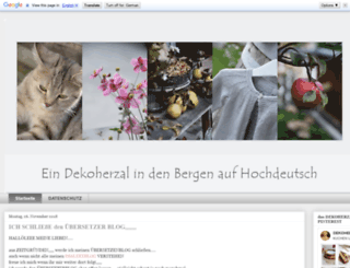 dasdekoherzalaufhochdeutsch.blogspot.co.at screenshot