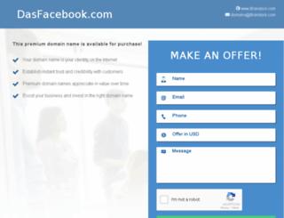dasfacebook.com screenshot