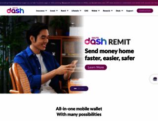 dash.com.sg screenshot