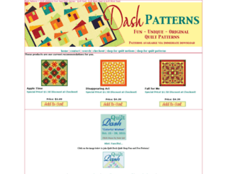 dashpatterns.com screenshot