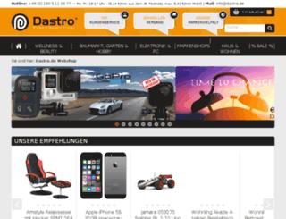 dastromedia.de screenshot