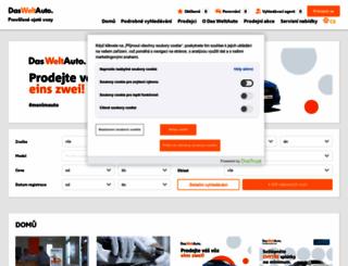 dasweltauto.cz screenshot
