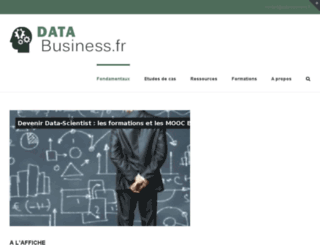 data-business.fr screenshot
