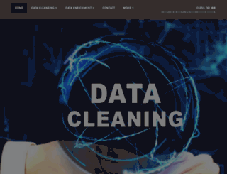 data-cleansing-services.co.uk screenshot