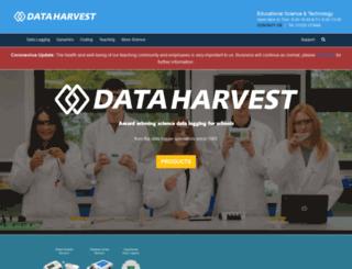 data-harvest.co.uk screenshot