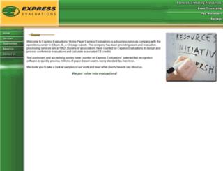 data.express-evaluations.com screenshot