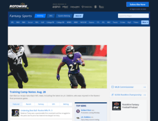 databasefootball.com screenshot