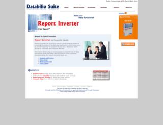 databiliosuite.com screenshot