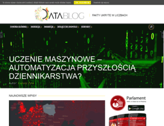 datablog.pl screenshot