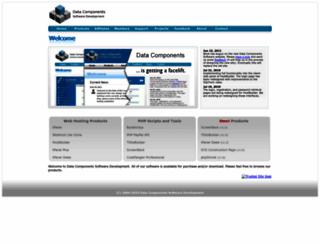 datacomponents.net screenshot