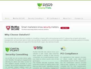 datafort.com.au screenshot
