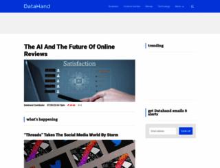 datahand.com screenshot
